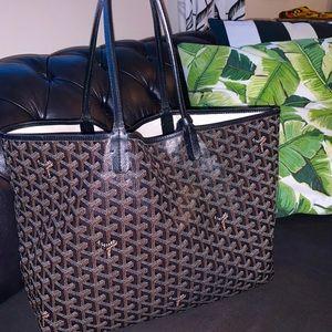 Black Goyard Bag